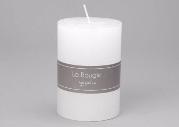 Bougie cylindre blanc (Petit Modèle)