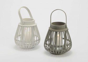 Mini lanterne basic taupe
