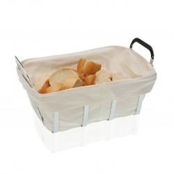 Panière à pain blanche