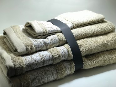 """Ensemble de serviettes de toilette pour une personne """"Terra"""" ..."""