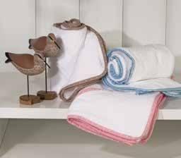 Serviette de bain bébé – rose