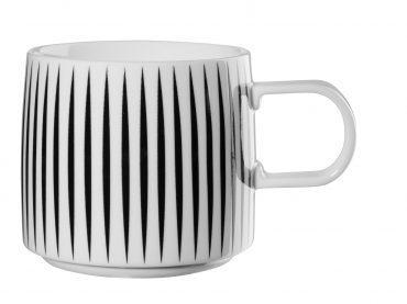 "Mug  ""Zèbre"" noir & blanc"